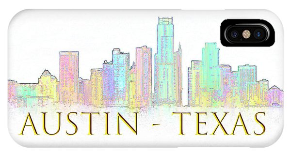 Austin Skyline IPhone Case