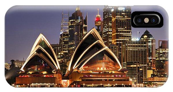 Nsw iPhone Case - Australia Iconic Sydney City Landmarks by Taras Vyshnya