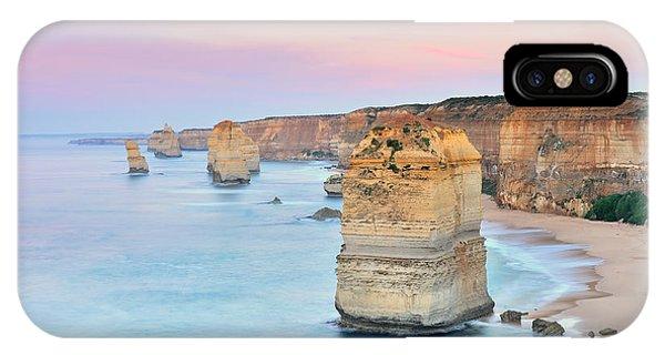 Travel Destination iPhone Case - Australia Landscape  Great Ocean Road - by Maythee Voran
