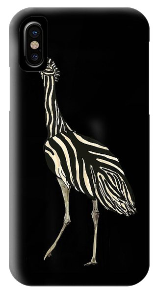 iPhone Case - Australian Bustard Zebra 1 by Joan Stratton