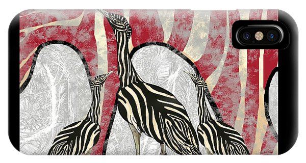 iPhone Case - Australian Bustard Zebra 8 by Joan Stratton