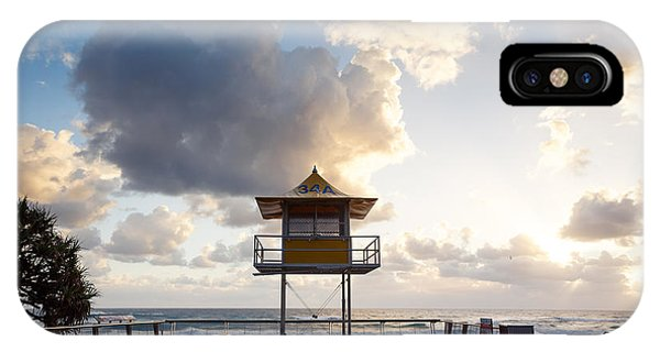 Qld iPhone Case - Australian Foreshore Early Morning Gold by Pawel Papis