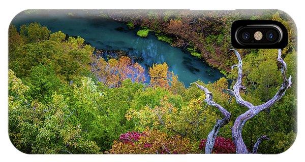 IPhone Case featuring the photograph Autumn At Ha Ha Tonka State Park by Allin Sorenson