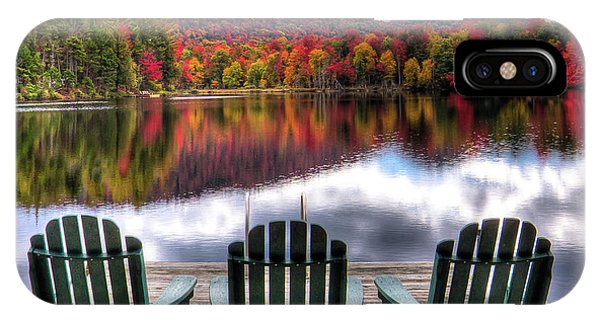 iPhone Case - Autumn At The Lake by David Patterson