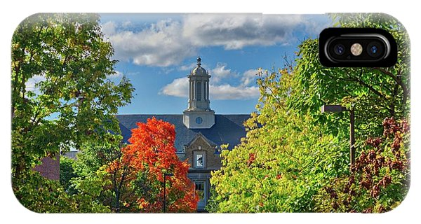 IPhone Case featuring the photograph Autumn Beauty At Cornell University - Ithaca, New York by Lynn Bauer