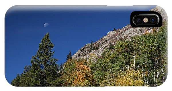 IPhone Case featuring the photograph Autumn Bella Luna by James BO Insogna
