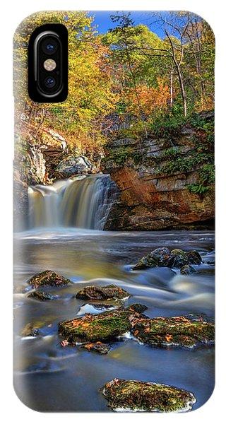 Autumn Day At Doane's Falls IPhone Case