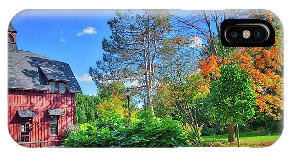 IPhone Case featuring the photograph Autumn Days On Campus At Cornell University - Ithaca, New York by Lynn Bauer