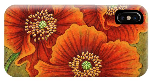IPhone Case featuring the painting Autumn Encroaches by Amy E Fraser