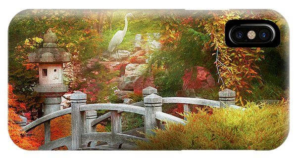 IPhone Case featuring the photograph Autumn - Finding Inner Peace by Mike Savad