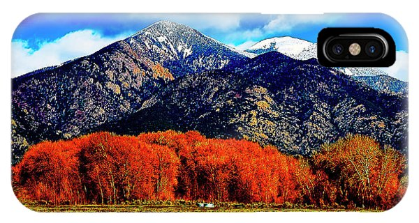 Autumn In Taos New Mexico IPhone Case
