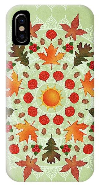 Autumn Mandala IPhone Case