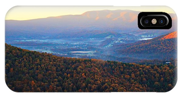 IPhone Case featuring the photograph Autumn Mountains  by Candice Trimble