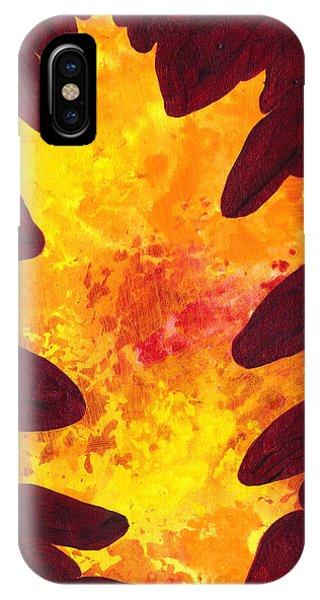 Autumn Oak 3 IPhone Case