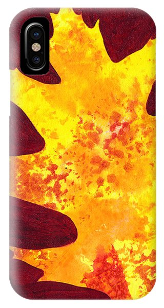 Autumn Oak 4 IPhone Case
