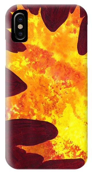 Autumn Oak 5 IPhone Case