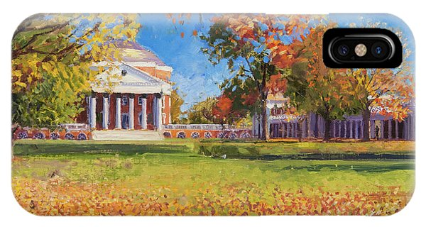 Sunny iPhone Case - Autumn On The Lawn by Edward Thomas