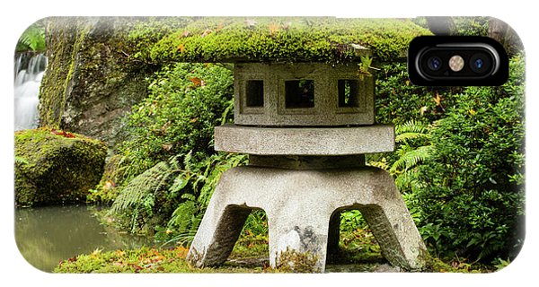 iPhone Case - Autumn, Pagoda, Japanese Garden by Panoramic Images