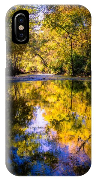IPhone Case featuring the photograph Autumn Reflections by Allin Sorenson