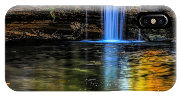 IPhone Case featuring the photograph Autumn Reflections At Ludlow Falls by Dan Sproul