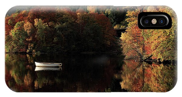 IPhone Case featuring the photograph Autumn Reflections by Grant Glendinning