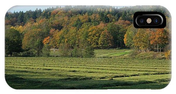 Autumn Scenery IPhone Case
