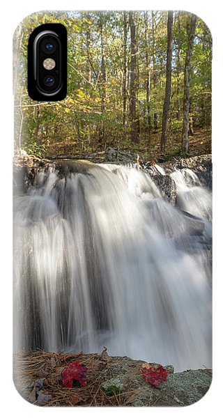 IPhone Case featuring the photograph Autumn - Secret Waterfall 3 by Brian Hale