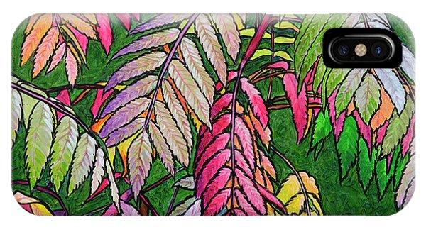 Autumn Sumac IPhone Case