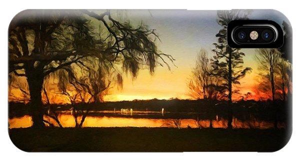 Autumn Sunset IPhone Case