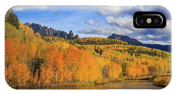 San Miguel iPhone Case - Autumn Tranquility by Bridget Calip