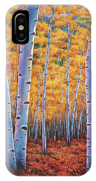 Rocky Mountain Landscape iPhone Case - Autumn's Dreams by Johnathan Harris