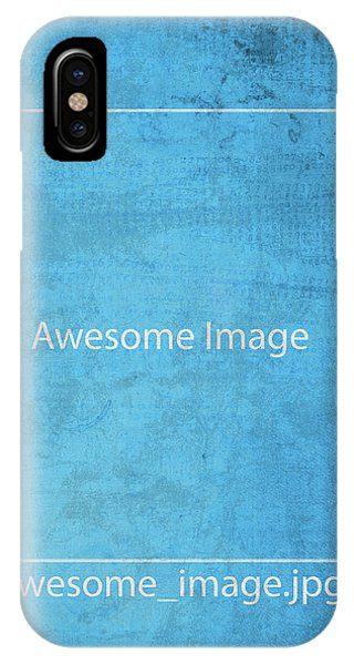 Missing iPhone Case - Awesome Missing Jpeg Image by Design Turnpike