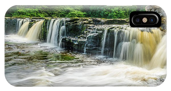 Aysgarth Upper Falls, Yorkshire Dales Phone Case by David Ross
