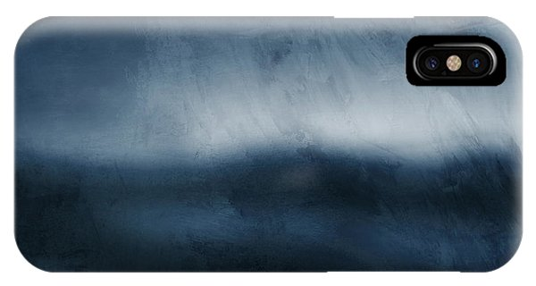 Sky iPhone Case - Azul 1- Art By Linda Woods by Linda Woods