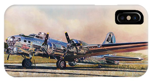 B-17g Sentimental Journey IPhone Case
