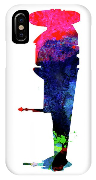 Film iPhone Case - B-wing Watercolor by Naxart Studio