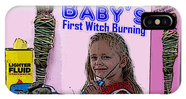Baby's First Witch Hunt IPhone Case