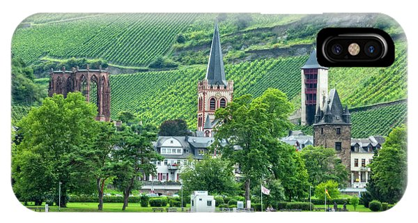 IPhone Case featuring the photograph Bacharach, Germany, On The Rhine by Kay Brewer