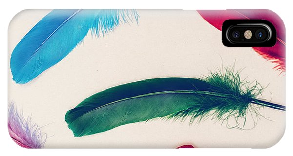 Plumes iPhone Case - Background Feathers. Fashion Photo by Evgeniya Porechenskaya