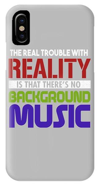 Background Music IPhone Case