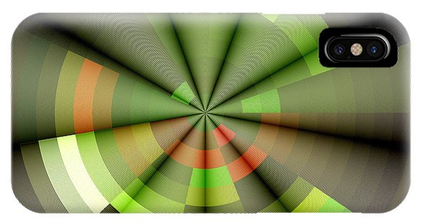Digital Image iPhone Case - Background Rays by Forfunlife