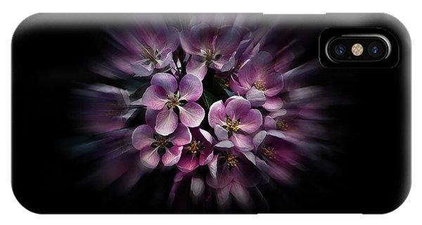 Backyard Flowers 47 Color Flow Version IPhone Case
