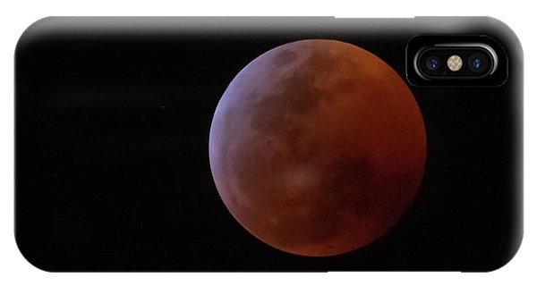 Bahamian Super Blood Wolf Moon IPhone Case