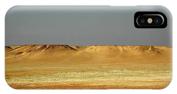 IPhone Case featuring the photograph Baked Sahara Desert by Mark Duehmig