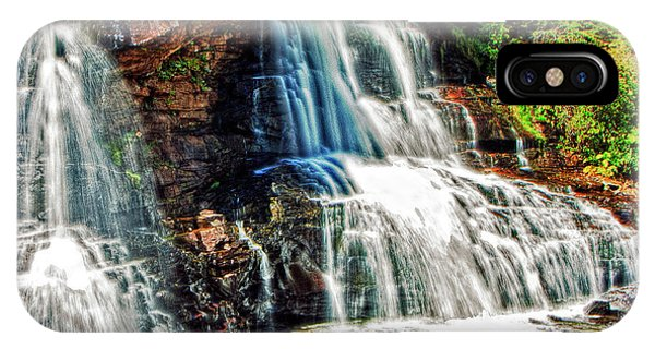 Balckwater Falls - Closeup IPhone Case