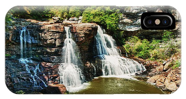 Balckwater Falls - Wide View IPhone Case