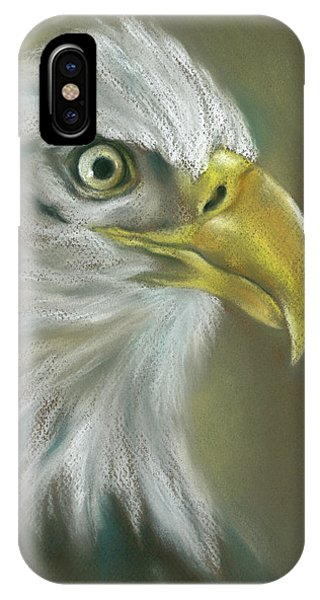 Bald Eagle With A Keen Eye IPhone Case