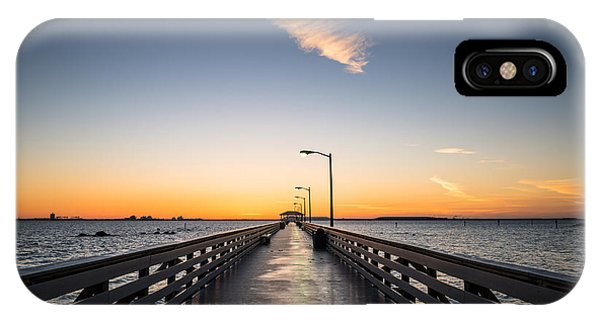 Clayton iPhone Case - Ballast Point Tampa Florida by Clayton Townsend