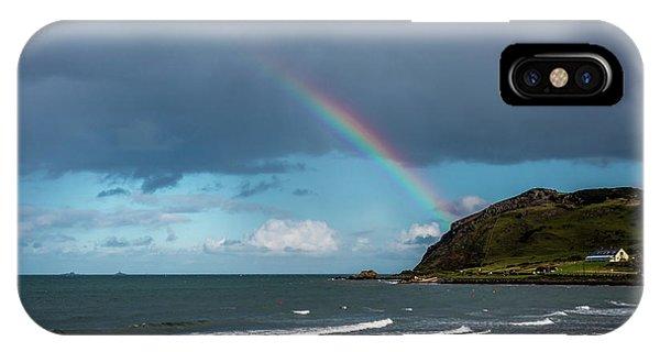 Ballygally Rainbow IPhone Case