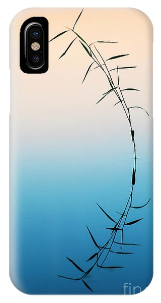 Bamboo Grass Reflection Phone Case by Tim Gainey